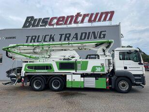 betoonipump Putzmeister BSF 38-5.16 HLS šassiil  MAN TGS 26.400 6x4 Putzmeister 38-5 m / Top Pump / German Truck