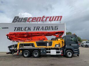 betoonipump Putzmeister BSF šassiil  MAN TGS 26.400 6x4 Putzmeister 38-5 m / Top Pump / German Truck