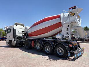 uus betoonisegisti poolhaagis ALIM mixer semi trailer concrete mixer semi-trailer