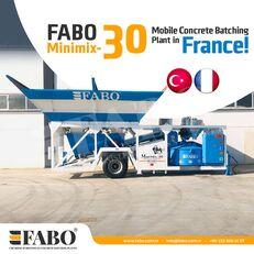 uus betoonitehas FABO MINIMIX-30M3/H MINI CENTRALE A BETON MOBILE