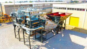 uus betoonitehas FABO TURBOMIX-120 MOBILE CONCRETE PLANT READY IN STOCK