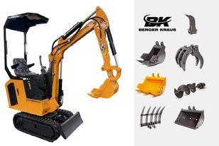 uus miniekskavaator BERGER KRAUS Mini Excavator BK800BS torsion arm with FULL equipment