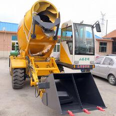 uus ratasekskavaator LUZUN selfloading concrete mixer