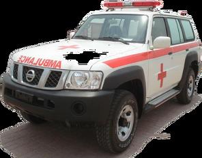 uus kiirabiauto NISSAN Patrol 4.0 XE AT